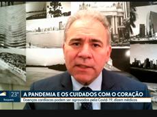 Pandemia do novo coronavírus pode agravar doenças do coração